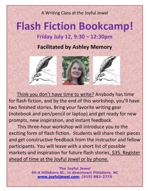 AM Flash Fiction Bootcamp!-1