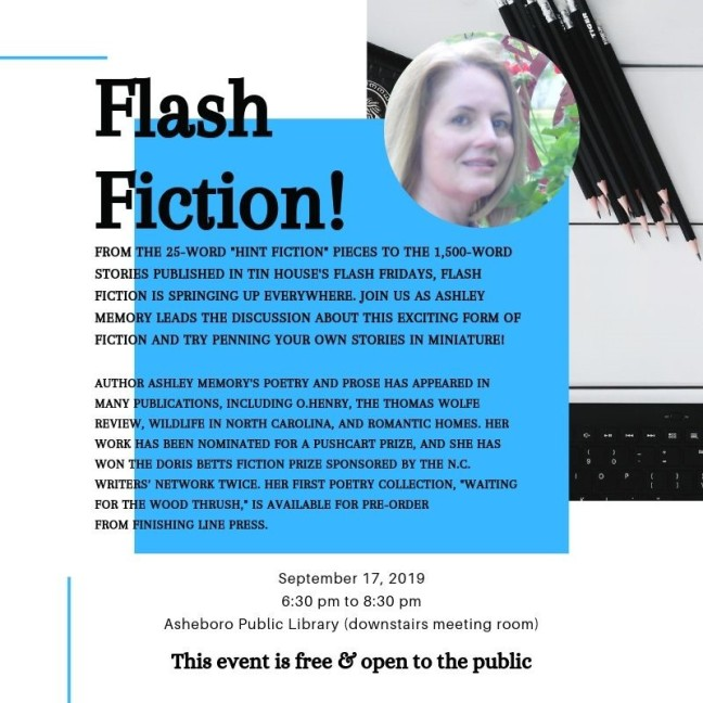 Flash Fiction September