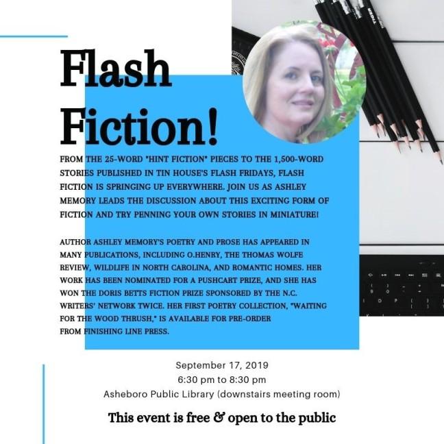 Flash Fiction September